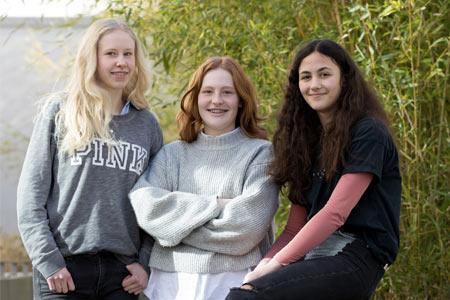 Schülerinnen Kinder Krebserkrankung