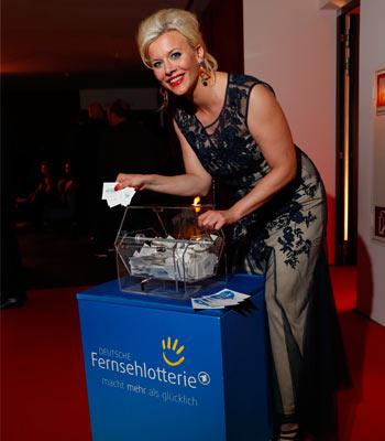 Deutsche Fernsehlotterie Sponsor Eva Habermann