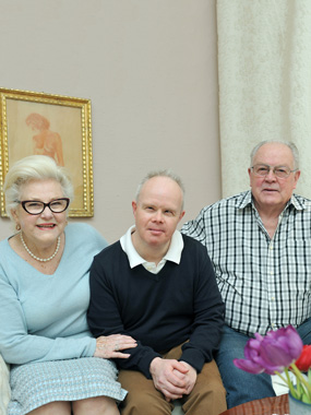 Renate Kreuzer, Frank Kreuzer, Josef Kreuzer, Downsyndrom