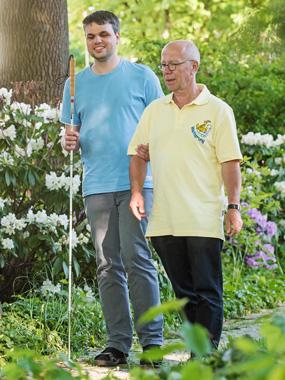 Blind gemeinsam Reisen Jochen Ehlers Herbert Swyter