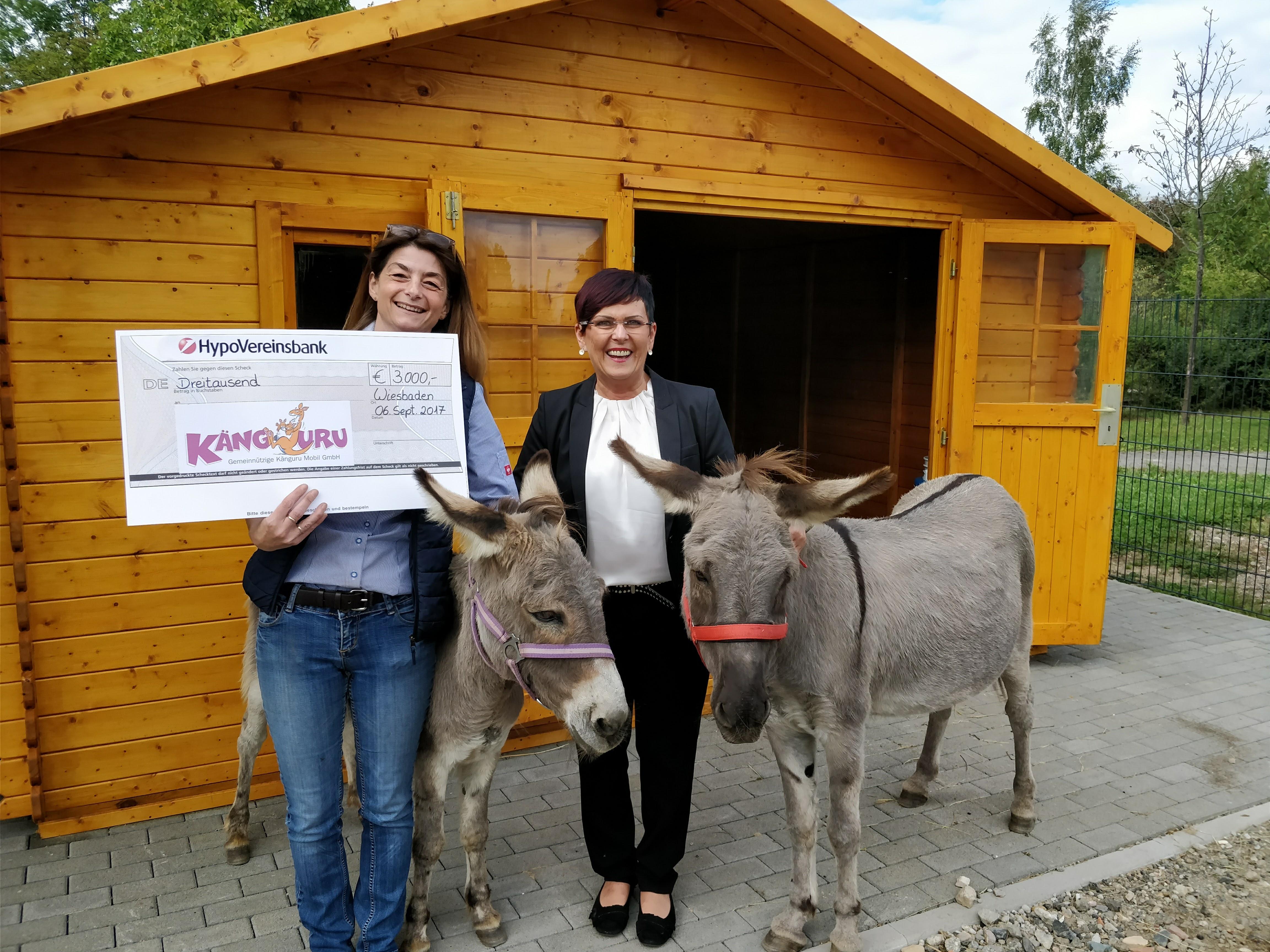 Hypovereinsbank Unicredit Soziales Engagement Känguru ifb-Stiftung