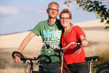 Susann und Ronny Kneipel Geschister Dialyse Nierenspende