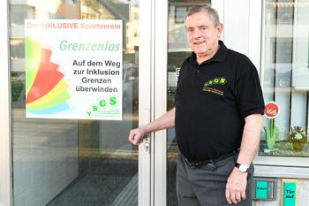Alfred Beyer Schwimmlehrer Inklusion Behindertensport