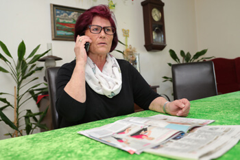 Margret Baumann Helden des Alltags Enkeltrick